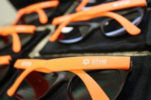 Smile Co. Swag - Orange Sunglasses!