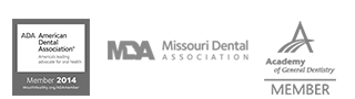 ADA, Missouri Dental Association, Academy of General Dentistry